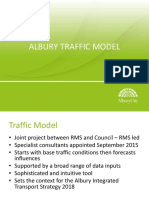 Presentation - Albury Traffic Model - Councillor Workshop 12 March 2018 (1).pptx