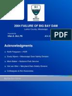 2004 Failure of Big Bay Dam Alvi