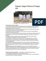 Pengertian, Tujuan, Tugas Pokok & Fungsi Karang Taruna