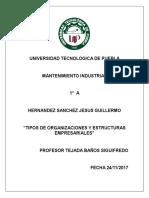 Tipos de Org y Estructuras Emp (1)