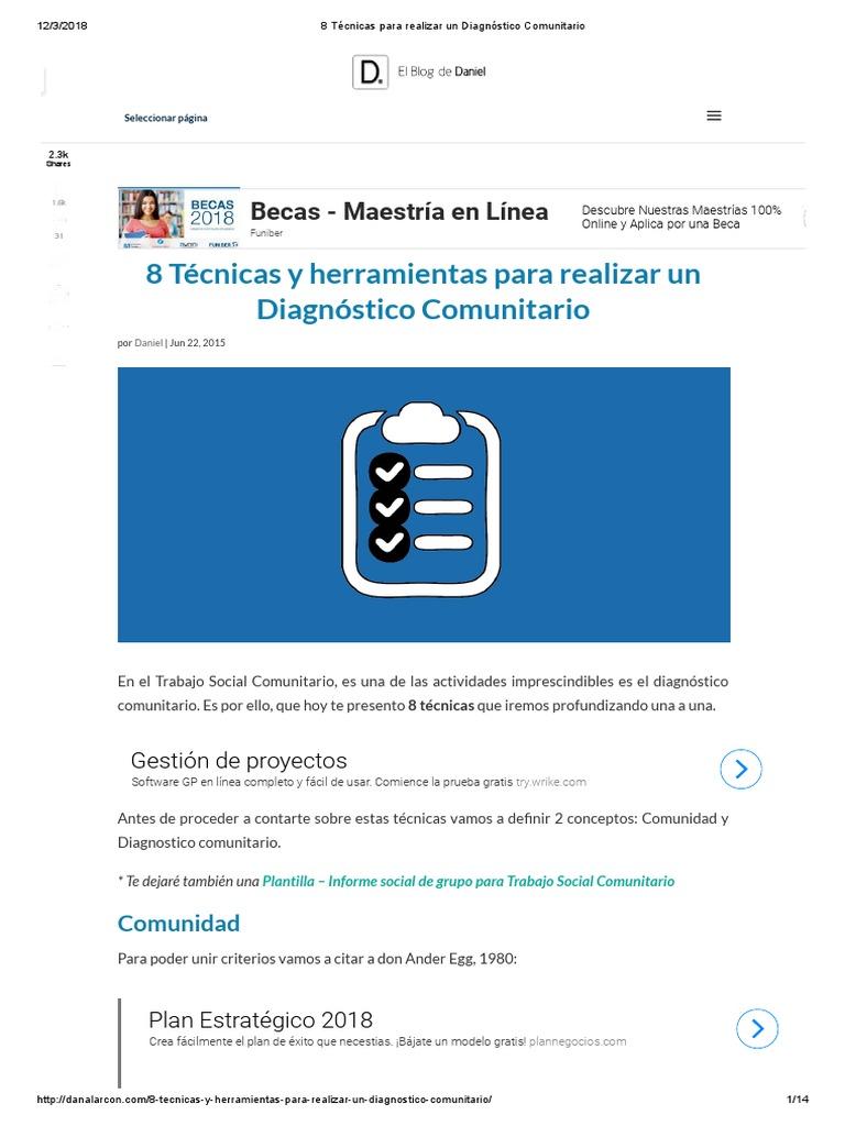 8 Técnicas para realizar un Diagnóstico Comunitario.pdf
