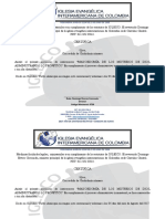 Certificados Inter.