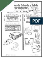 Clase de Segundo Grado - Unidades de Entrada y Hardware y Software