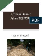 Kriteria Desain TELFORD