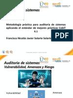 Auditoria de Sistemas_metodología Usando Estándar Cobit