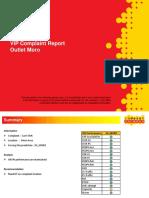 VIP Complaint Report of Moro