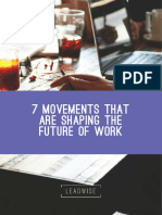 7 Movements Shaping the Future of Work