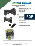 (GP-USBDS-003-M) 2.4GHz Wireless  USB Dual Shock Gamepad .pdf
