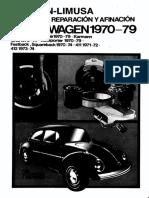 Chilton Limusa Manual Reparacion Afinacion Volkswagen 1970 1979 (1)