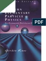 [G. Kane] Modern Elementary Particle Physics -