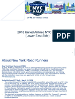 2018 NYC Half Marathon through the Lower East Side