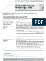 BreveEmergencia de Providencia Rettgeri NDM-1
