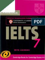 Cambridge IELTS 7 (Book)