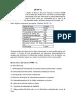 API RP 11L