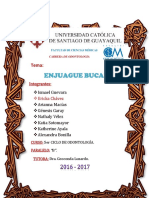 Enjuagues bucales - tutoria