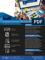Gradute Courses in Clinical Ultrasound Brochure 2017