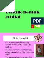 Bentuk Orbital