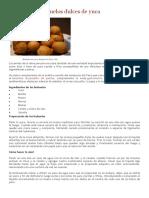 Cómo Hacer Buñuelos Dulces de Yuca