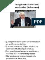 Teoría de la argumentación como acción comunicativa (presentacion pdf)