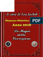 I Casti 2018  Dipensa didattica n 2° La magia della Correzione di Lea jackob