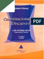 ALEXY, Robert - Constitucionalismo Discursivo
