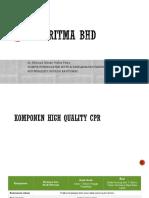 ALGORITMA BHD