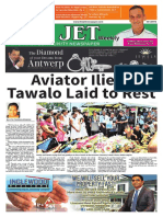 The Jet Newspaper Volume 10 Number 8