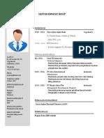 Download Contoh CV PDF Doc Untuk Lamaran Kerja Bahasa