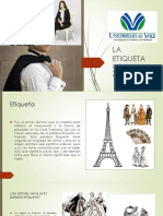 La Etiqueta.- Capacitacion Para Edecanes