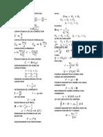 Formulario de Mecánica Clásica