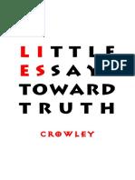 Crowley - Little Essays Toward Truth