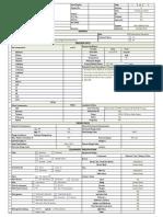 Flare Data Sheet