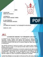 Dh Fundamentación Axiologica