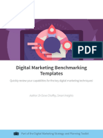 Benchmarking Templates for Digital Marketing Smart Insights