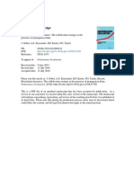 Performance Evaluation Volume Issue 2016 [Doi 10.1016_j.peva.2016.07.001] GöBel, J.; Krzesinski, A.E.; Keeler, H.P.; Taylor, P.G. -- Bitcoin BlockchainDynamics- The Selfish-mine Strategy in the Pre