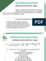 Correlacion Eaton