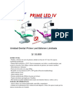 Unidad Dental Prime Led Edicion Limitada
