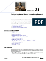 VIRTUAL ROUTER REDUNDANCY PROTOCOL(VRRP)
