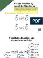 NOTES-Aromatic Substitution via Diazonium Chemistry