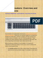 MEP Engineering Design- Circuit Breakers