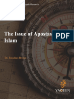 The Issue of Apostasy in Islam 1