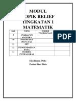 Modul Topik Relief Mp t1