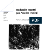 Libro-Produccion Forestal Para America Tropical-frank Wadsworth