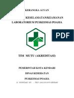 Kerangka Acuan Program Keselamatan Laboratorium