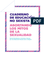 Cuaderno de Educación No Sexista - Abortando Los Mitos Sobre Sexualidad