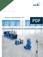 Bombas y Automatismos 2014-KSB