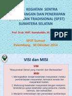 Hasil Kegiatan SP3T Sumatera Selatan(1)