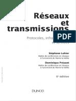 (Info Sup (Paris. 2015)) Lohier, Stéphane_ Présent, Dominique-Réseaux Et Transmissions _ Protocoles, Infrastructures Et Services-Dunod (2016)