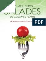 Plante, Colombe-Les meilleures salades de Colombe Plante _ salades et vinaigrettes santé.-AdA (2014)