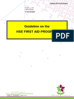 KM Guideline on the HSE First Aid Program